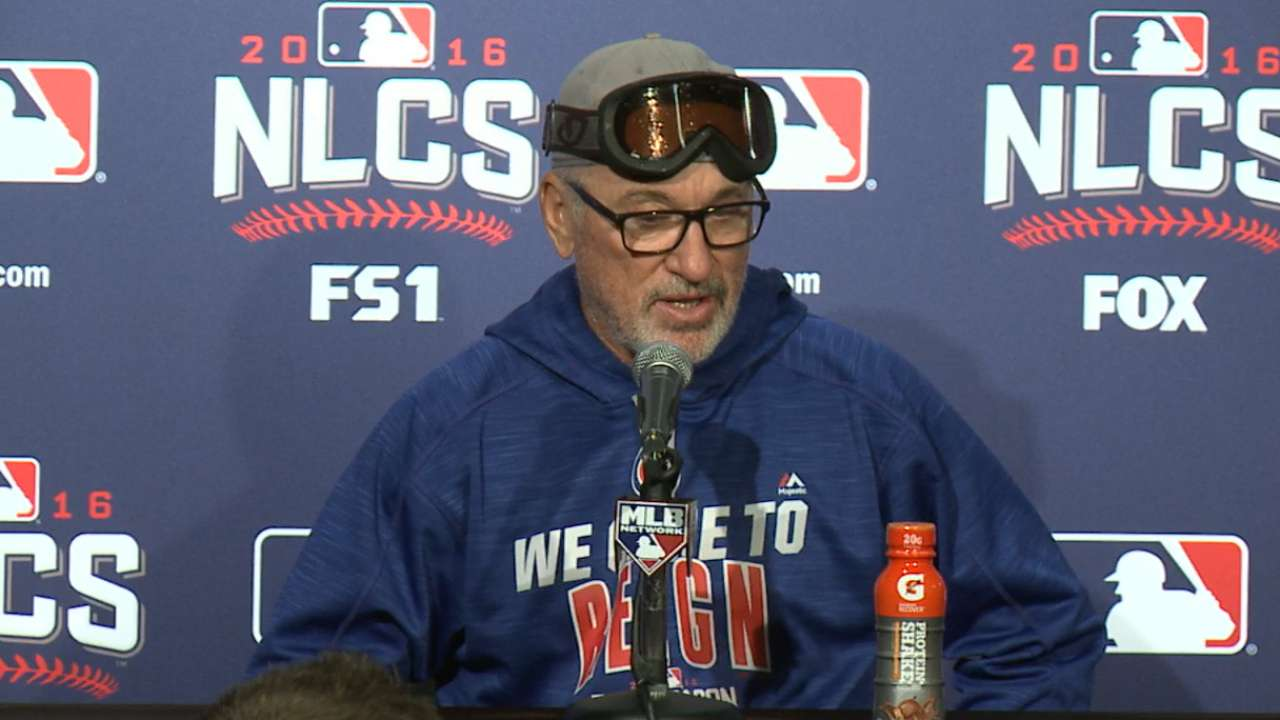 Oct. 22 Joe Maddon postgame interview