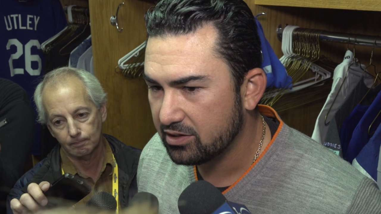 Gonzalez on NLCS loss to Cubs