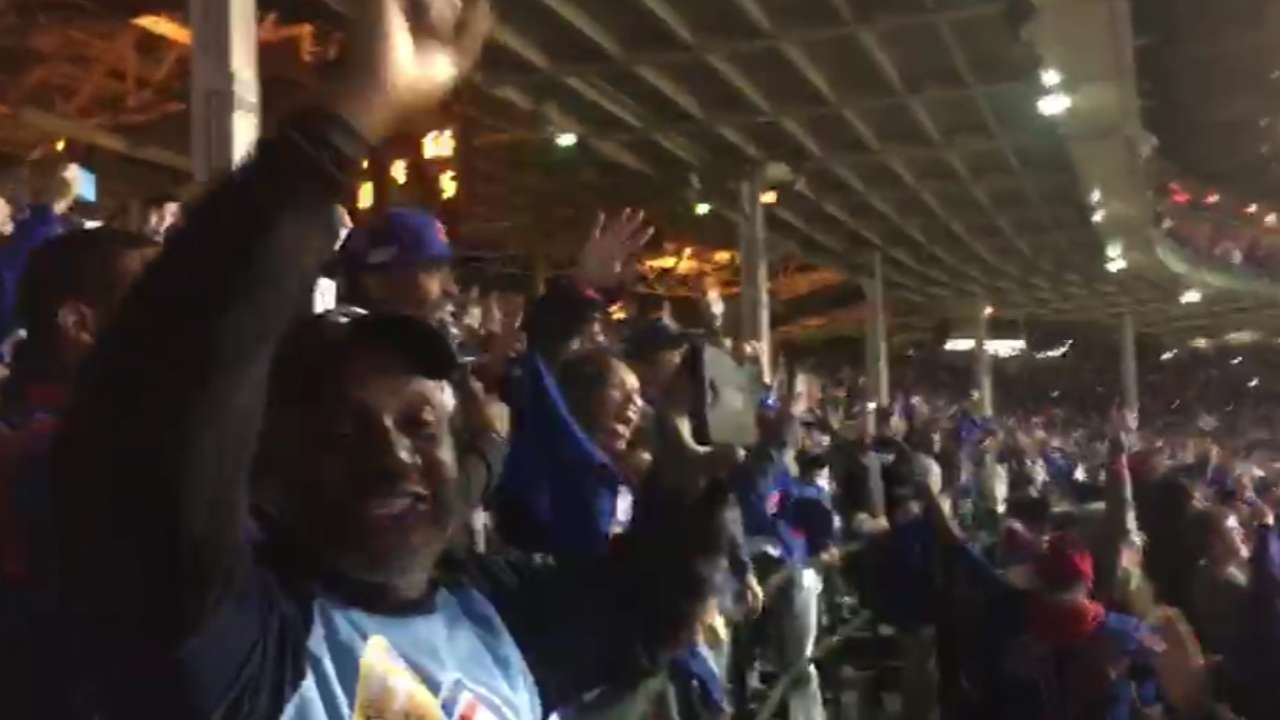 Fans all over: Who you'll find in the Cubs' corner