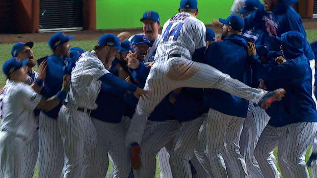 Cubs' path to World Series