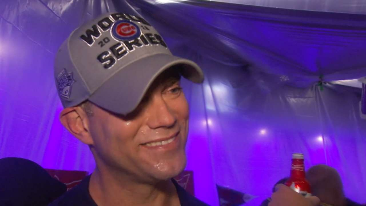 Epstein on Cubs making history