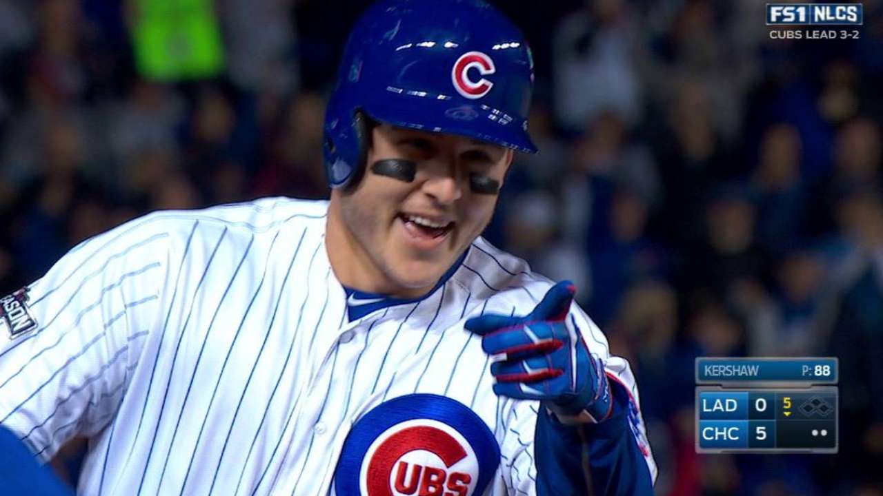 Rizzo's solo jack pads lead
