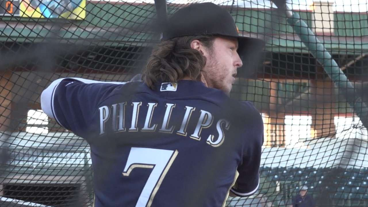 Phillips on Fall League play