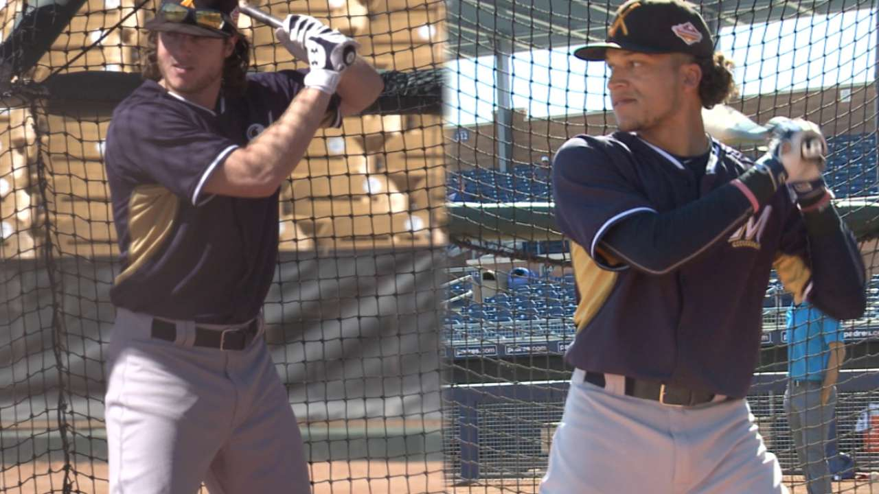 Brewers in AFL: Youngster Diaz gaining valuable experience