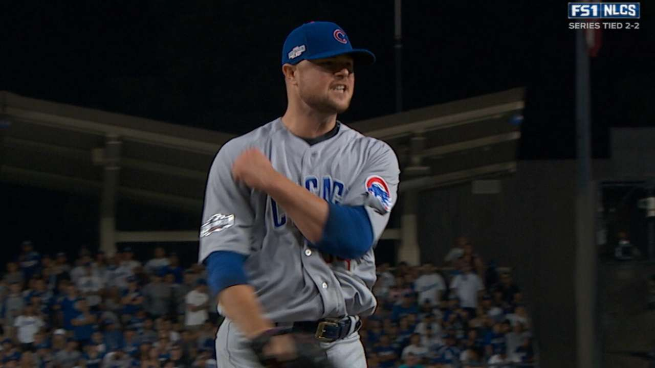 Lester on staying in the moment