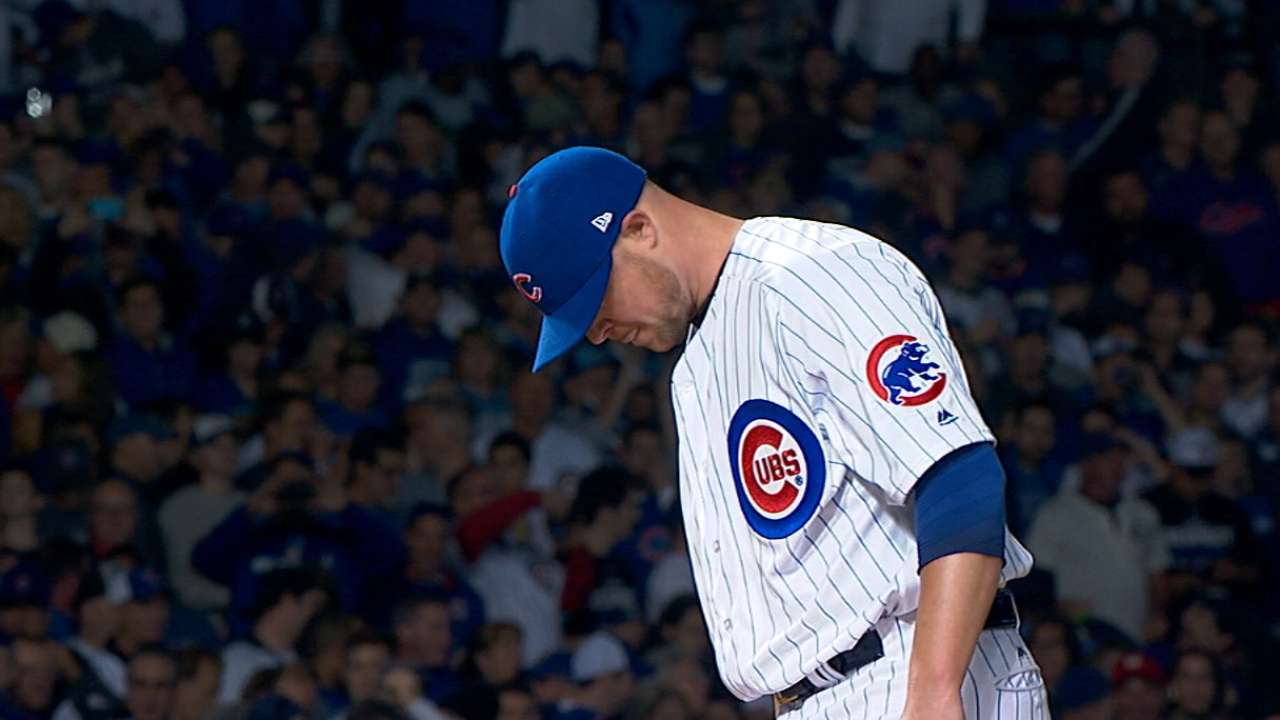 Lester: Some nerves, mostly poise in Game 1