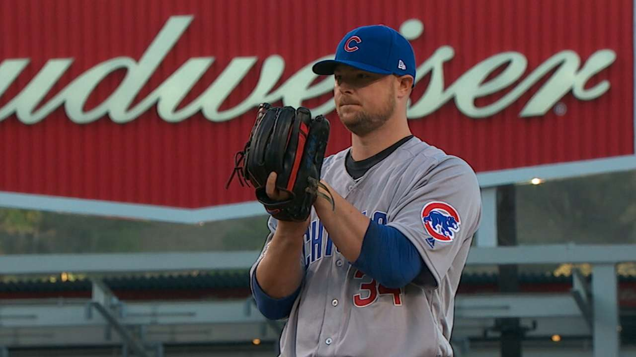 Maddon on Lester starting Game 1