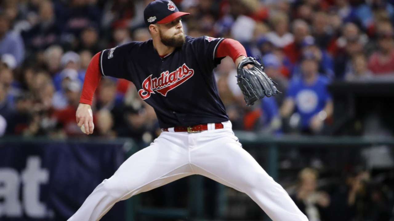 Routine-driven Kluber a rock for Indians