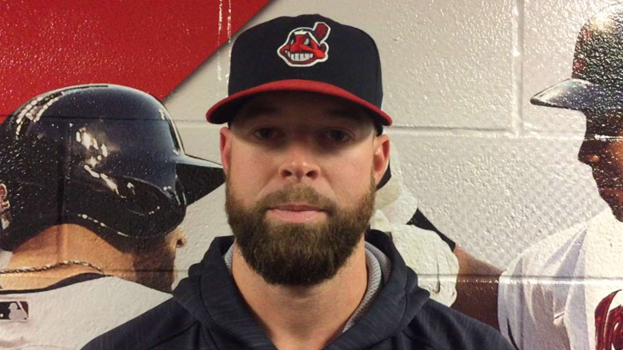 Kluber puts WS tickets to good use