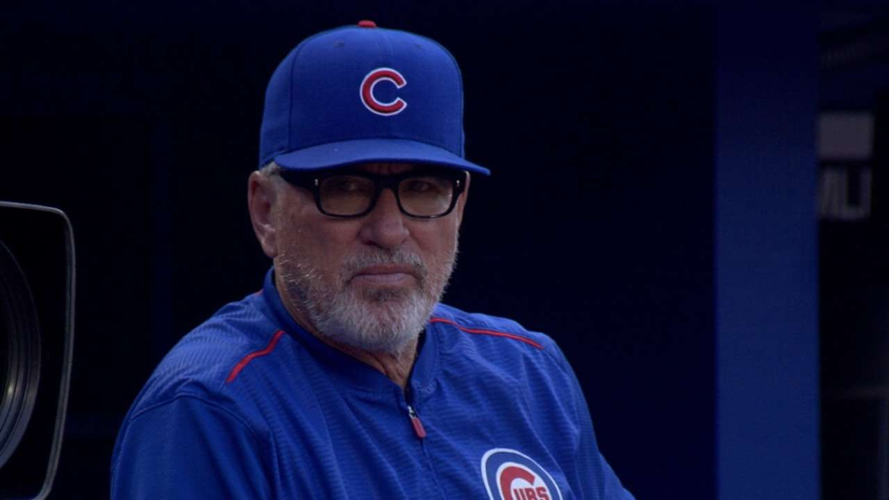 Old school or new school, Maddon's your guy