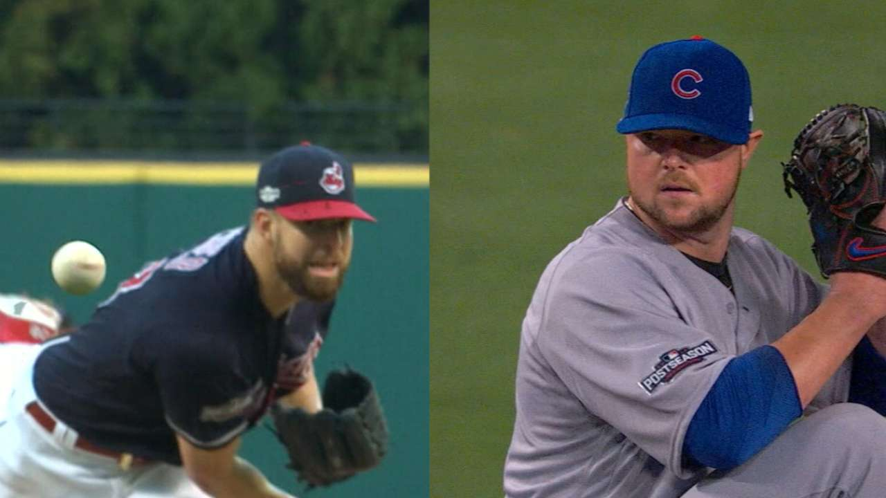 Kluber, Lester set to face off