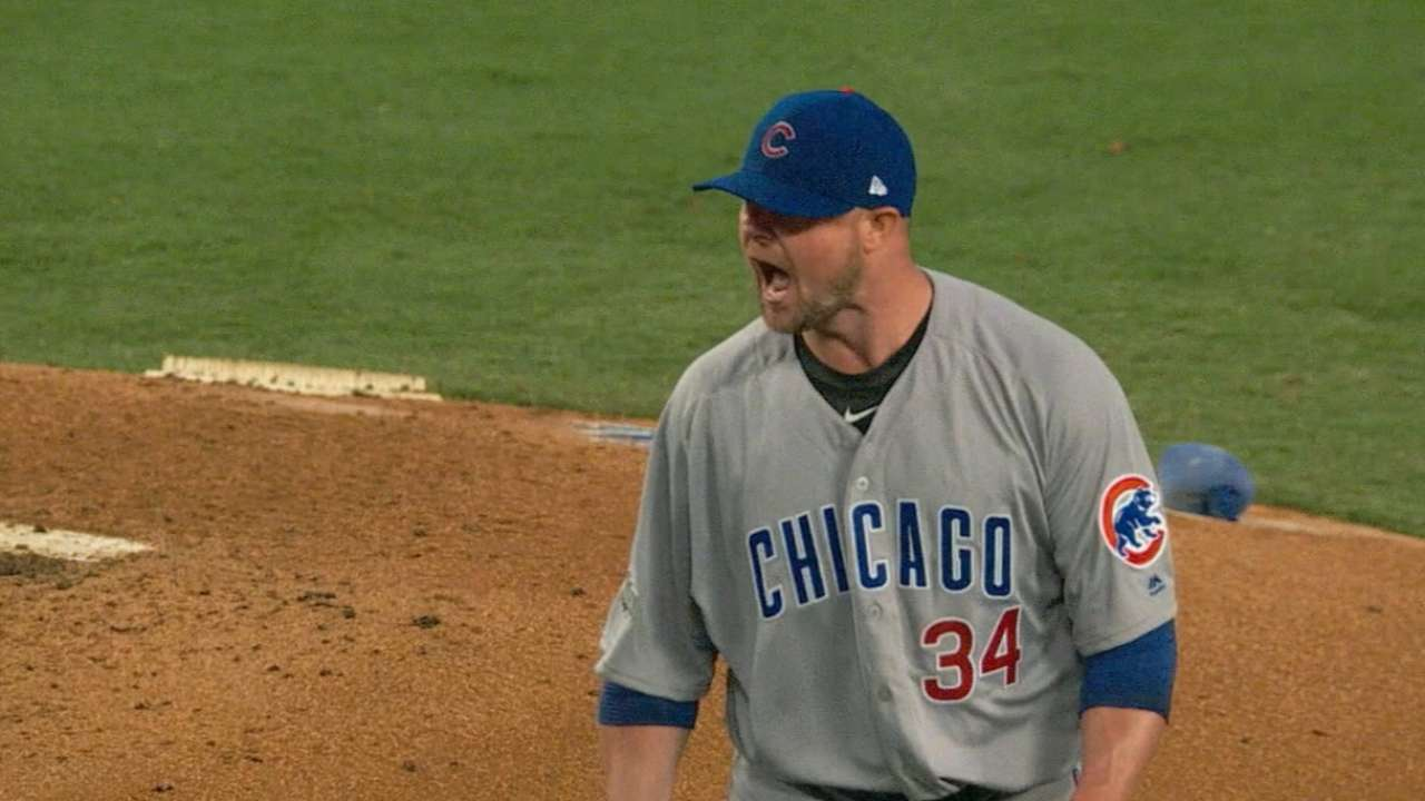 Playoffs in Cleveland? Bosio's been there