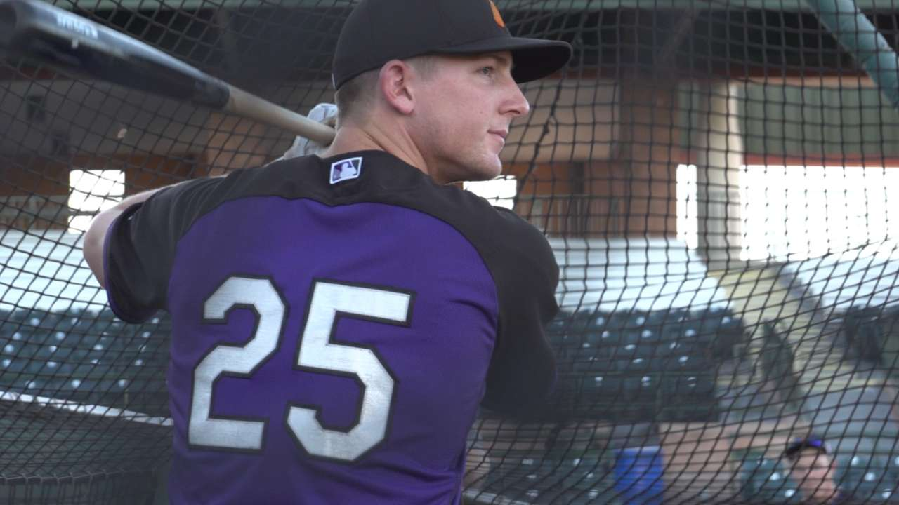 Rockies' McMahon chosen for AFL Fall Stars Game