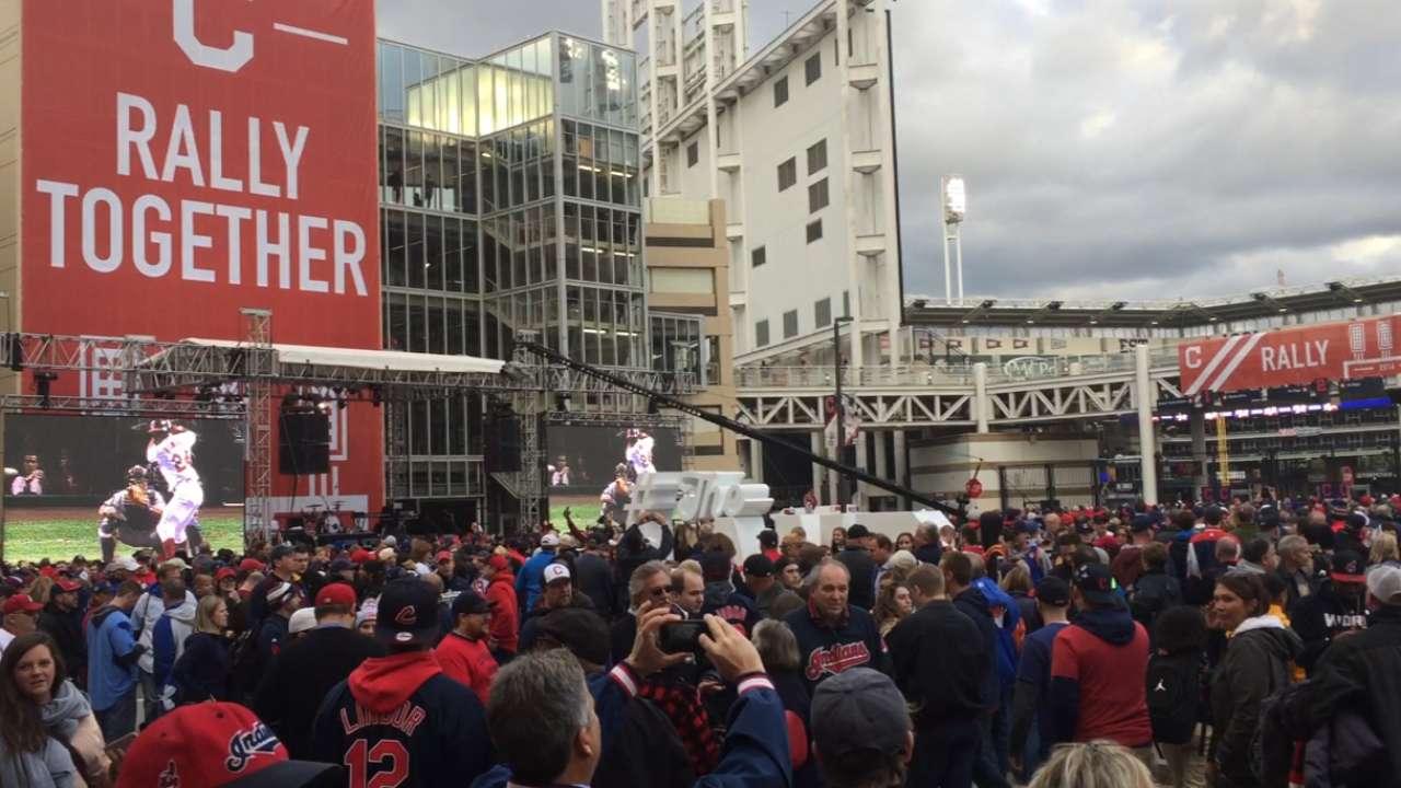Cleveland sports fans enjoy a day like no other