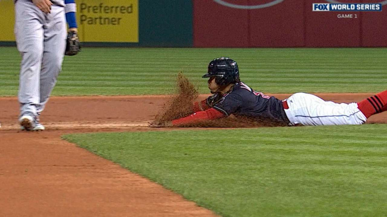 Lindor's steal means free taco