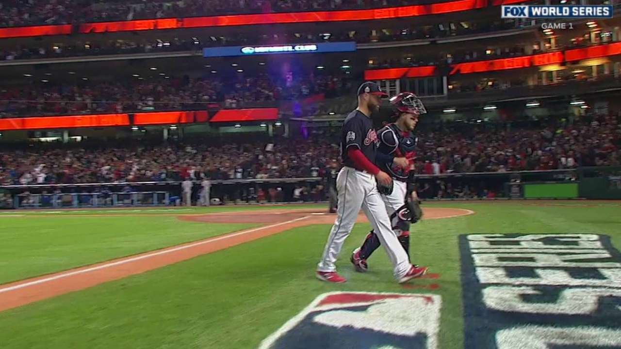 Kluber sets World Series record