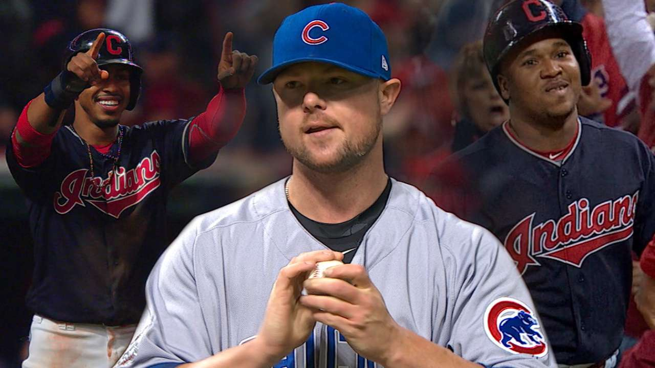 Must C: Indians rattle Lester