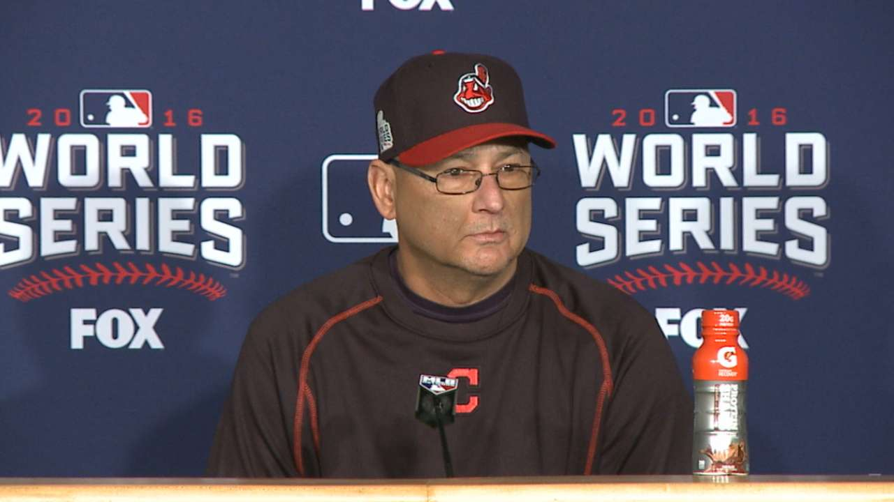 Oct. 25 Terry Francona postgame interview