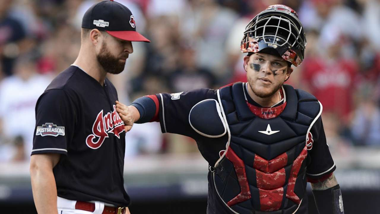 Perez, Kluber on Game 1 win