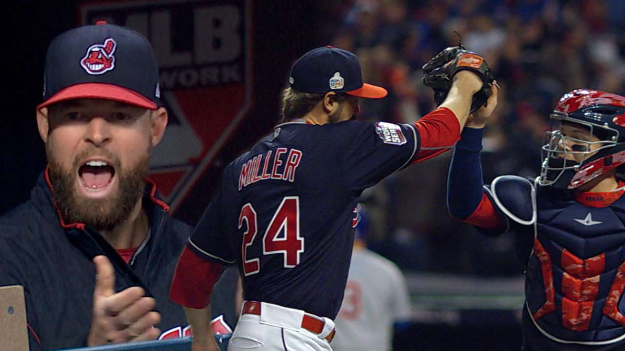 Miller grinds to turn away Cubs twice