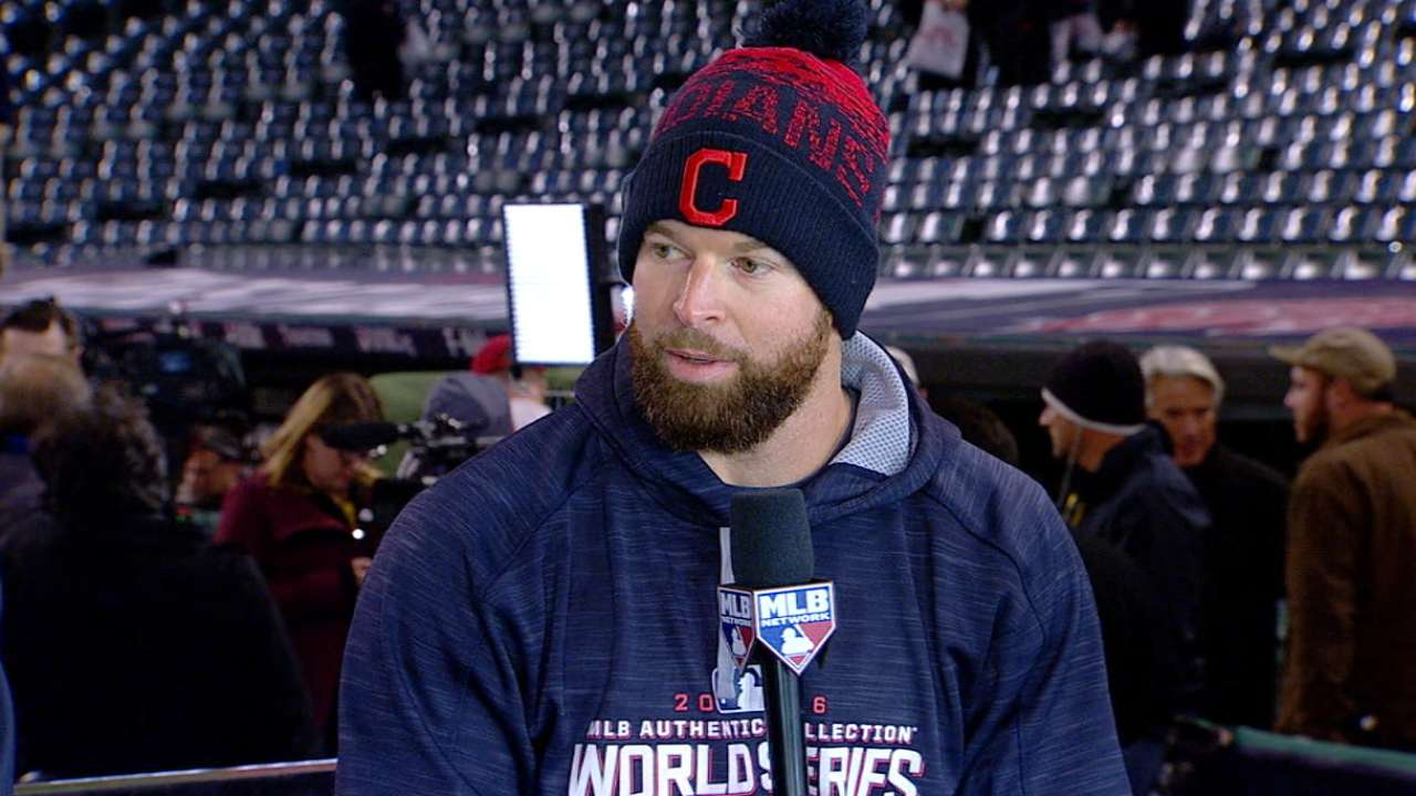 Kluber on Indians' Game 1 win