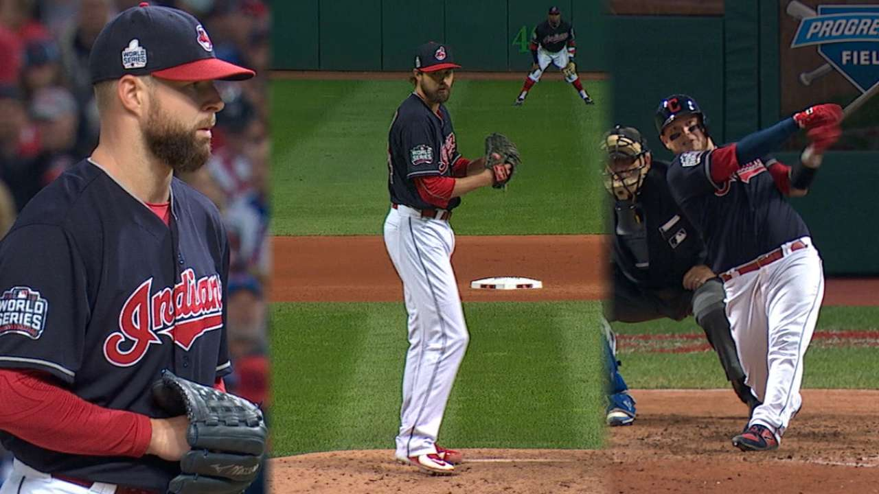 Stats of the Day: Tribe gets it done in Game 1