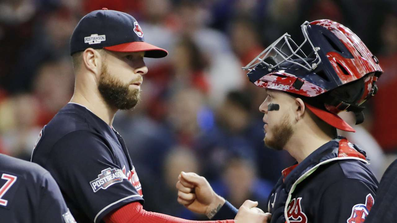Kluber on Perez's great defense