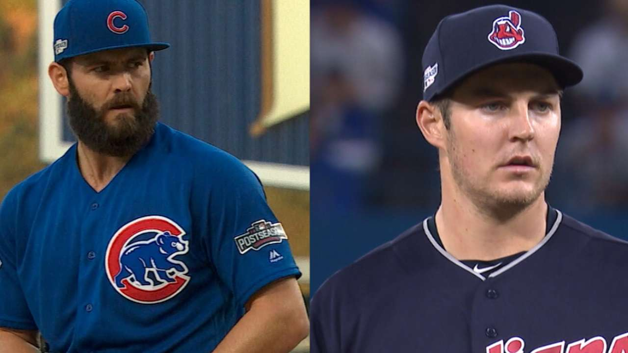 World Series Game 2 starting lineups: Cubs vs. Indians