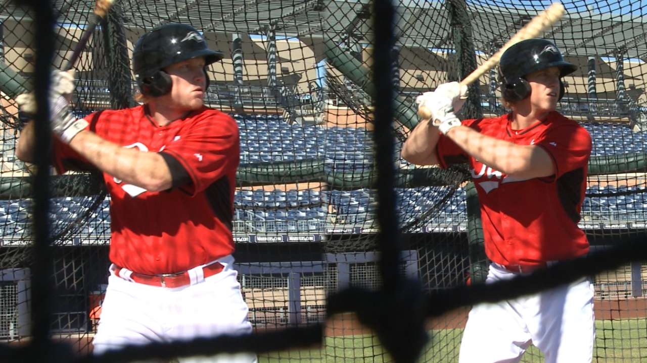 Reds in AFL: Dixon, Wallach acclimating to new organization