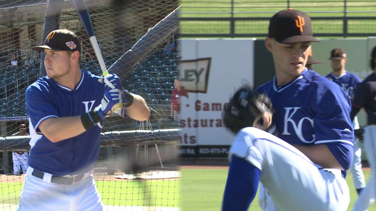 Royals in AFL: Dominant Staumont sharpening command