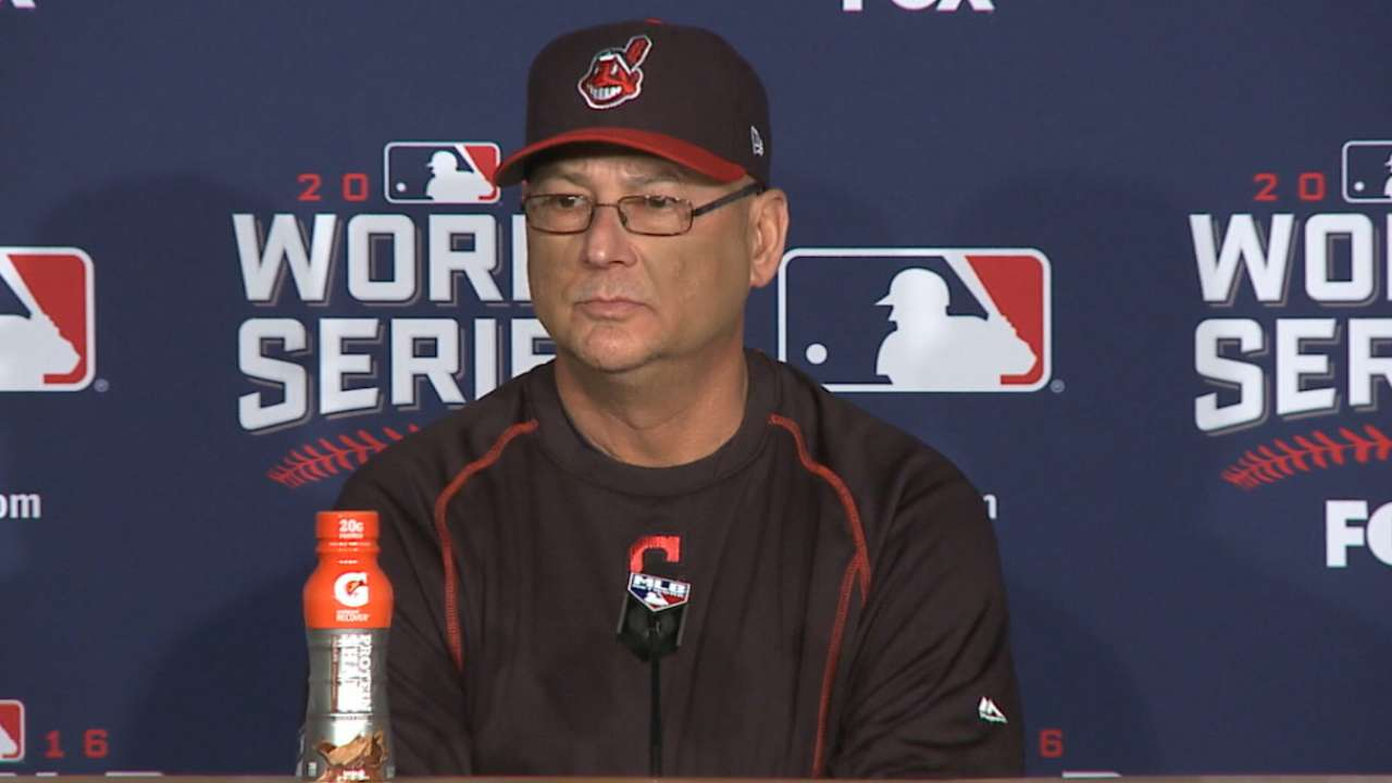 Francona on Kluber in Game 4