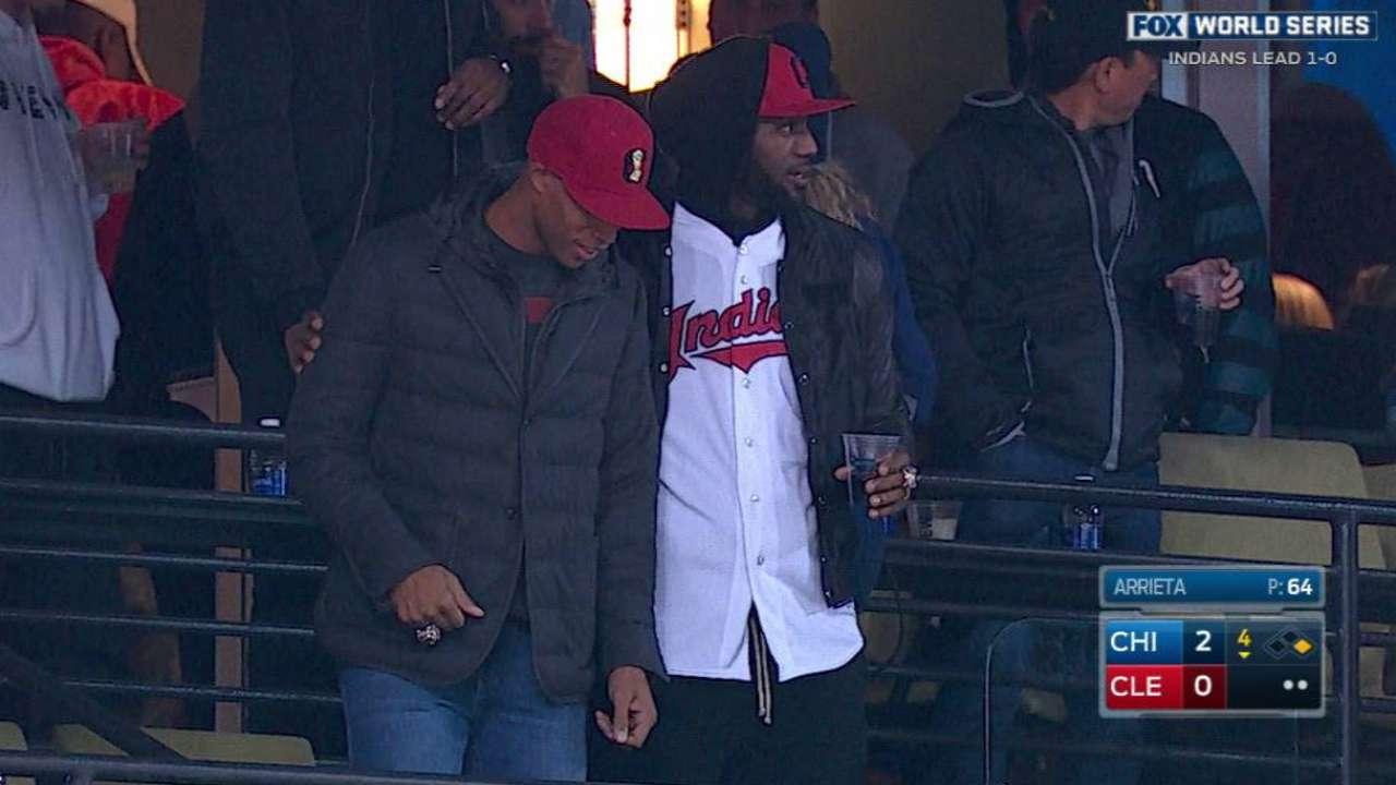 LeBron, Cavs enjoy the game