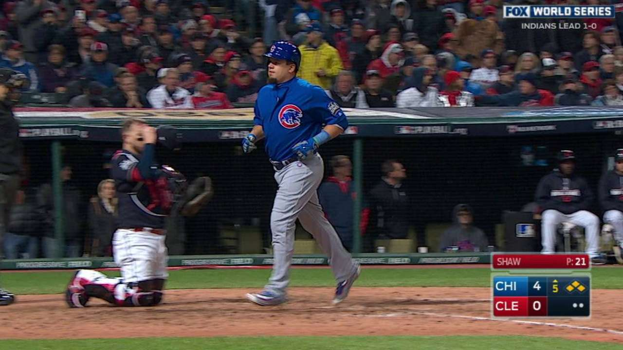 Walking dread: Tribe gives Cubs easy access