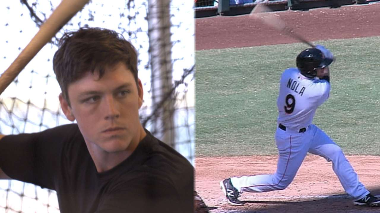 Marlins in AFL: Anderson raking, Nola learning to catch