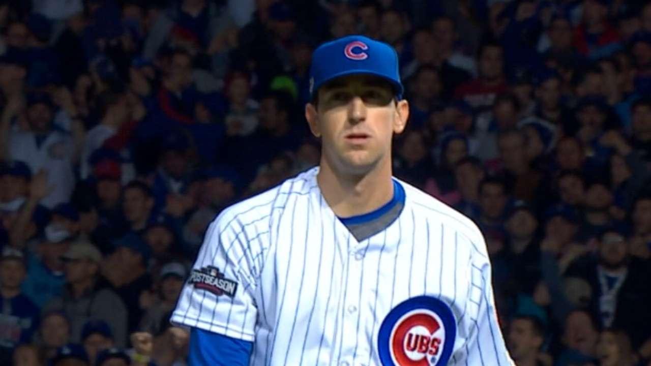 Hendricks on World Series start