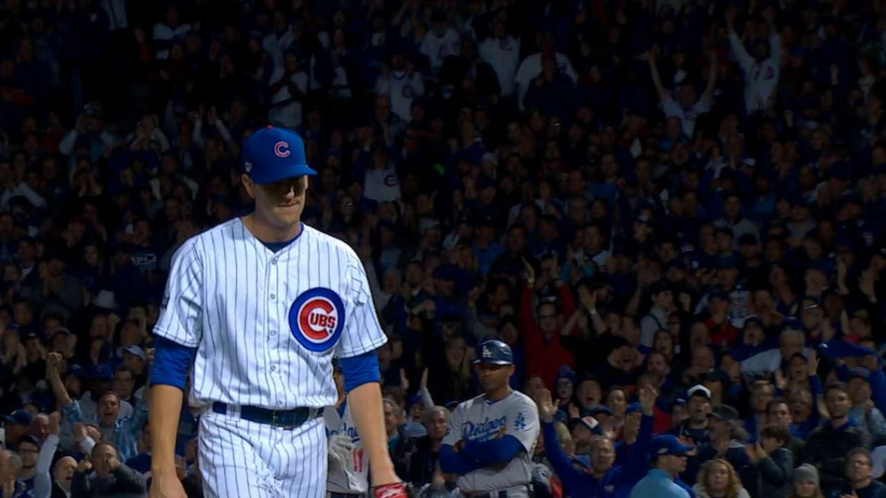 Hendricks dominates at Wrigley