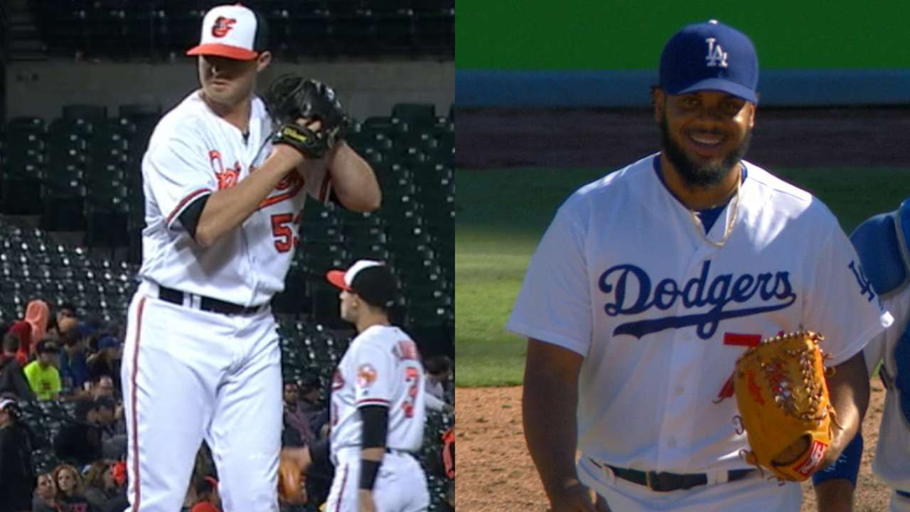 Britton, Jansen earn Reliever of Year honors