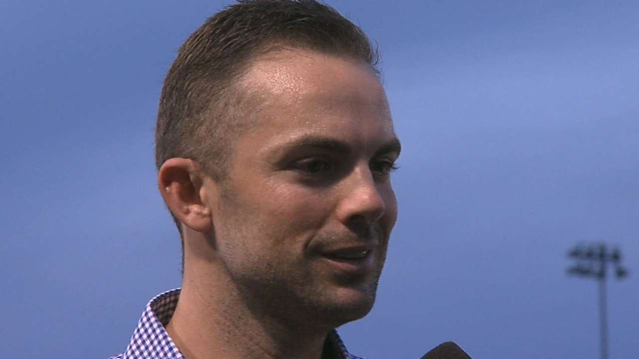 Wright looks back on AFL, forward to Spring Training
