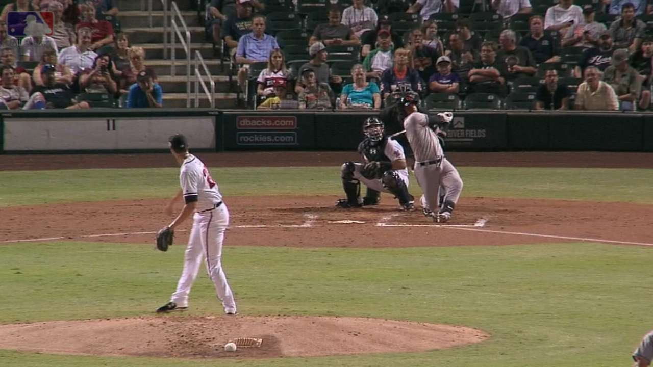 Torres' three-run homer