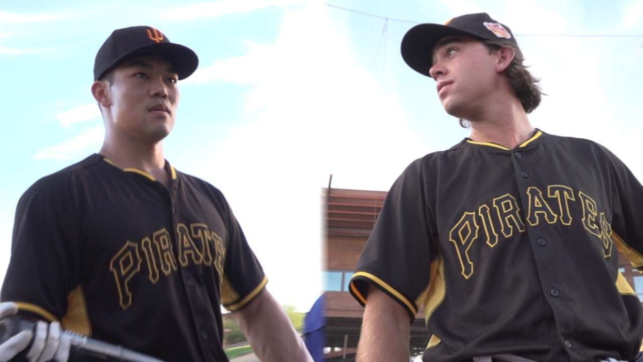 Pirates in AFL: Joe, Wood increasing versatility