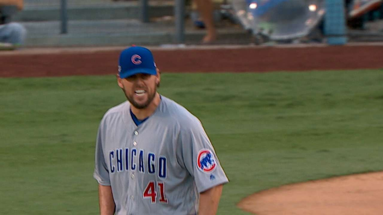 Game 4 starter Lackey used to postseason pressure