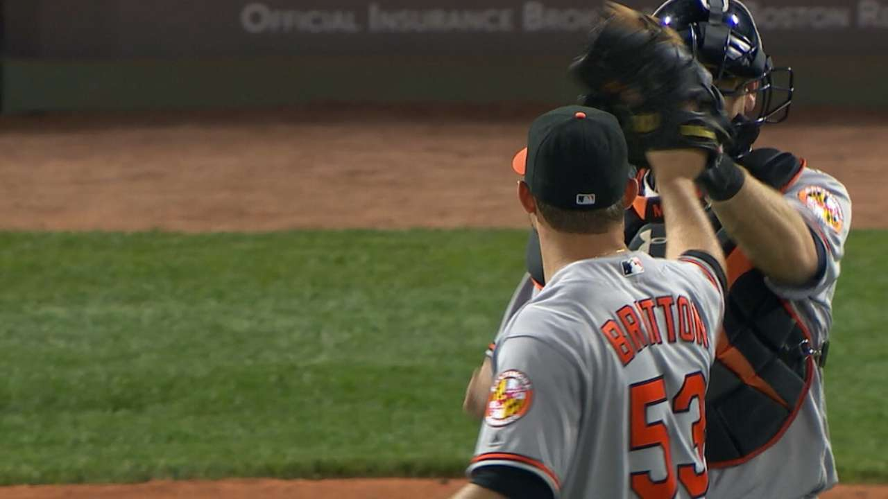 Buck shocked Britton not a Cy Young finalist