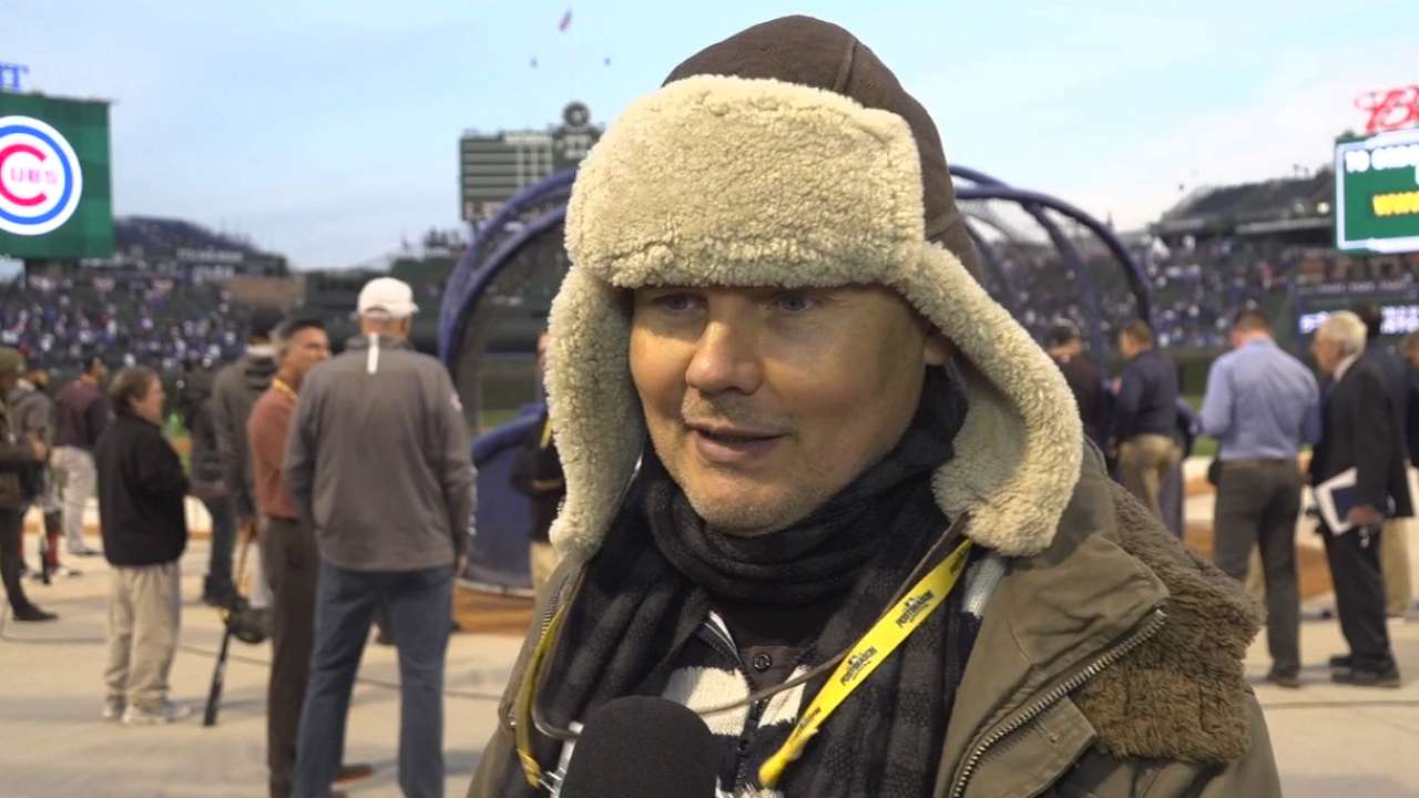 Corgan on the Cubs and Wrigley