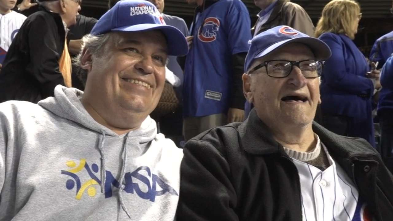 With a little help, 97-year-old Cubs fan returns to Series