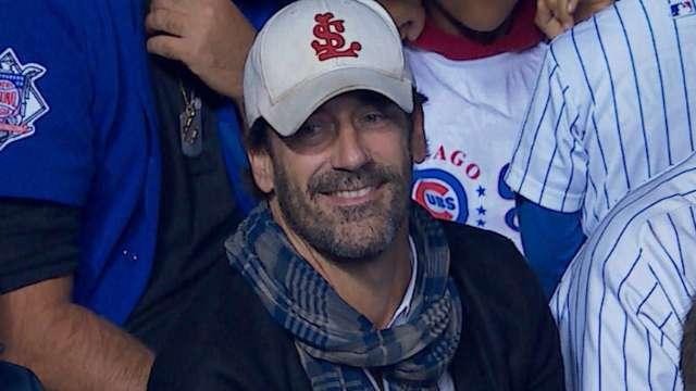 Jon Hamm Trolled Cubs Fans With A Throwback Cardinals Cap