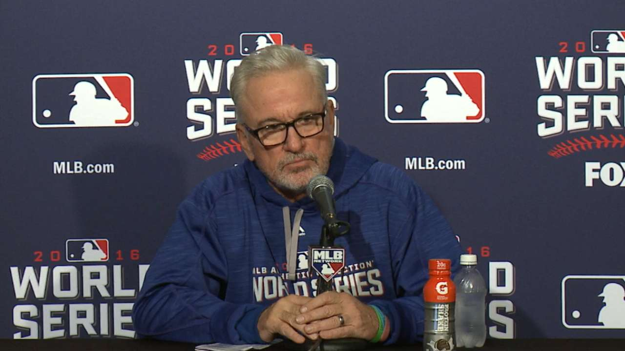 Maddon confident in Lackey, bats ahead of Game 4