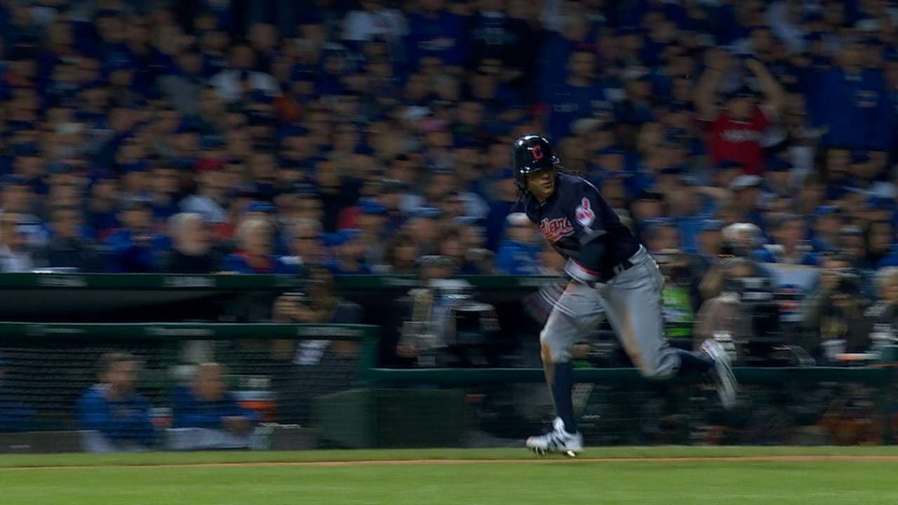 Indians win with small ball