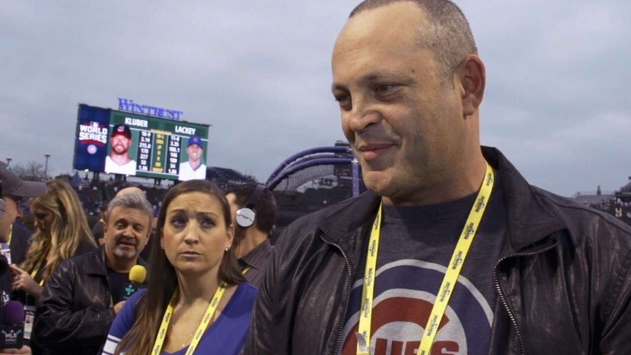 Vince Vaughn talks Cubs