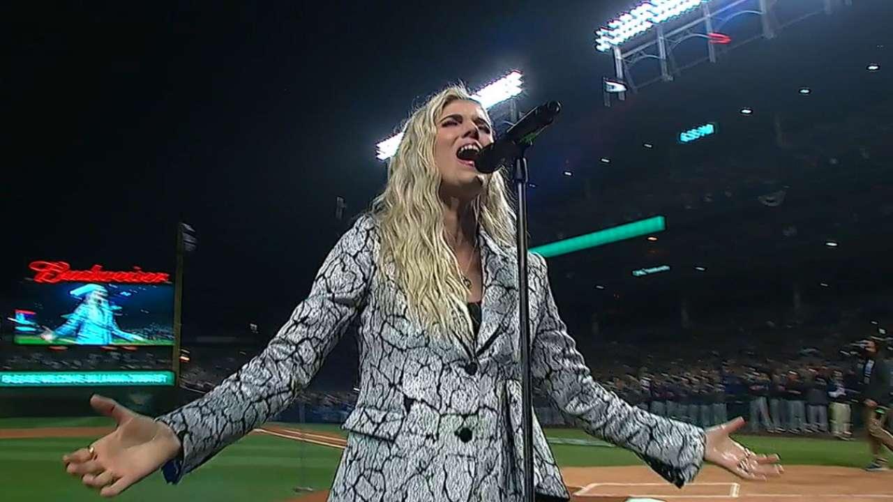 Julianna Zobrist sings