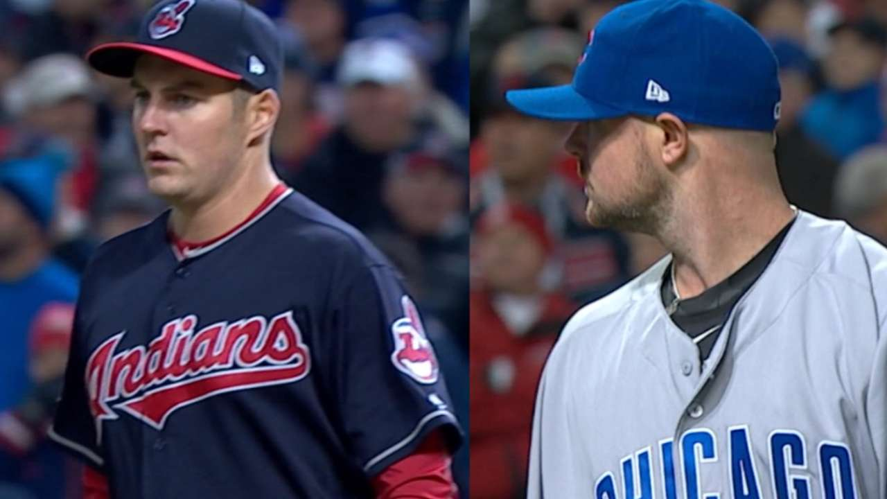 World Series Game 5 starting lineups: Indians, Cubs